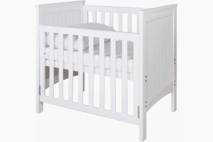 Spacesaver Cot LSG in White